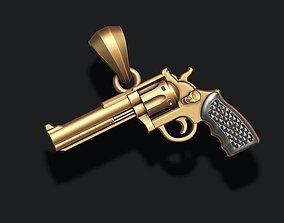 3D print model colt Gun pendant