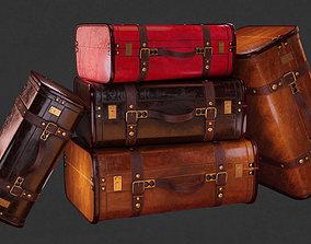 3D asset Vintiquewise Vintage Luggage Suitcase