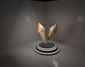 3D model animated game-ready Ice cream