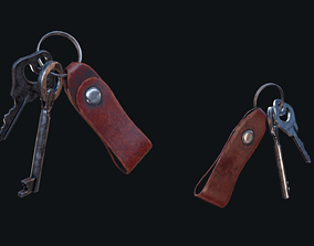 3D model HQ PBR Keychain