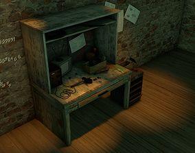 Workbench 3D model game-ready