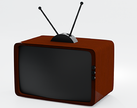 3D asset game-ready Television