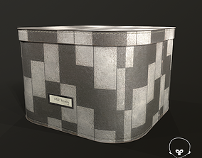 3D model Designer Storage Box - used item