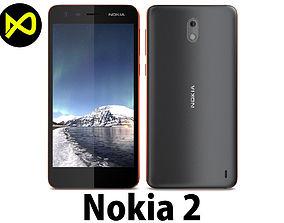 3D model Nokia 2 Copper
