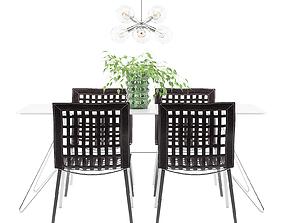 Dining Furnitures Set 24 3D