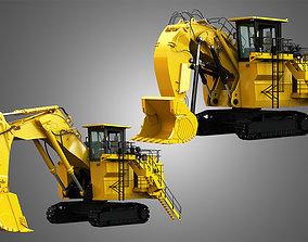 3D model 6030 FS - Mining Excavator and Shovel 2 in 1