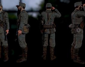 Wehrmacht soldier 3D model