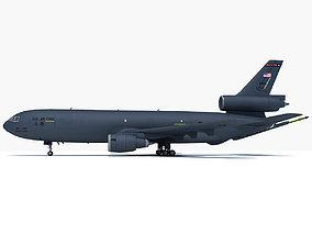 McDonnell Douglas KC-10 Extender refueling 3D model