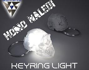 3D print model Homo Naledi Skull key-ring light