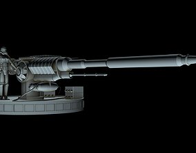 Death Star ion canon 3D model