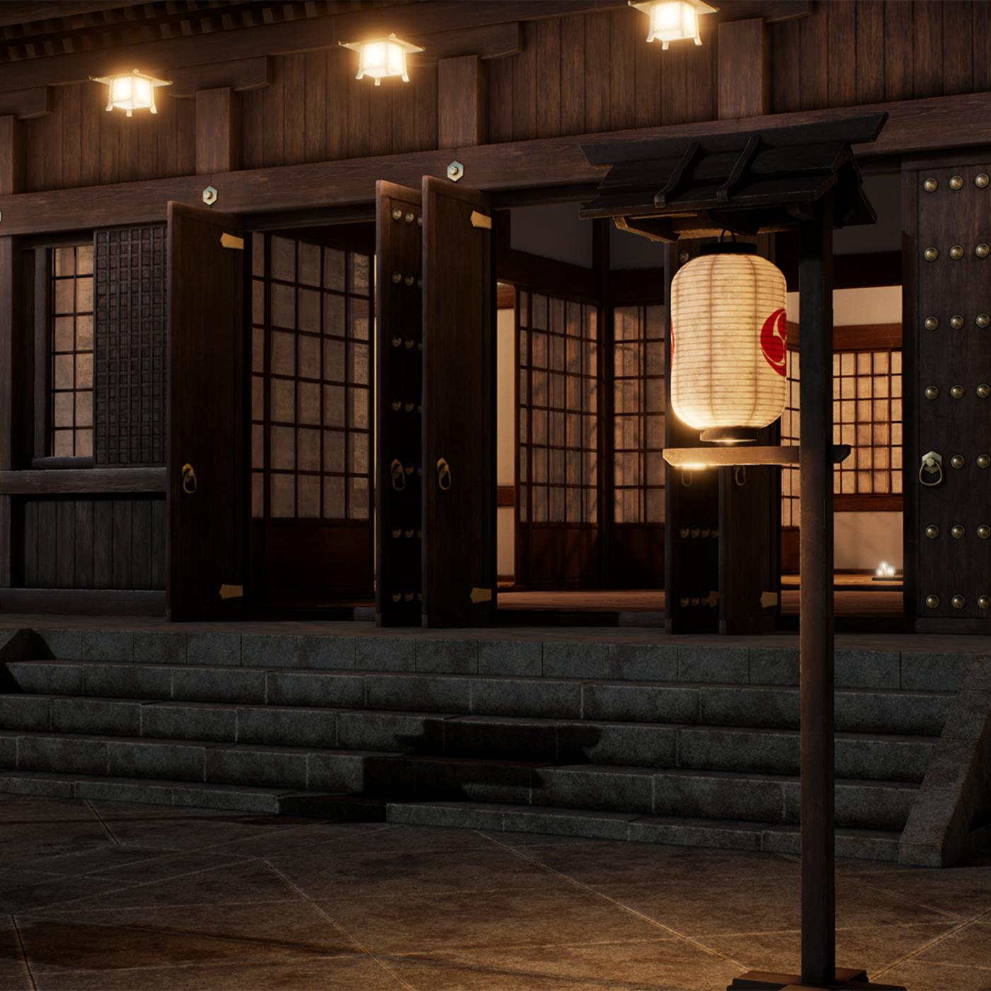 Japanese Modular Temple