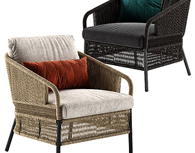 Varaschin Cricket lounge armchair 3D model
