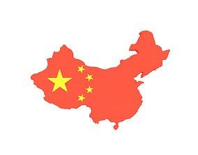 China Map v1 001 3D model