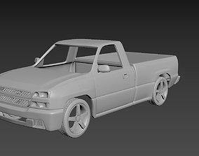 3D printable model Chevrolet Silverado 2006 Body For