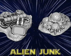 3D printable model Alien junk