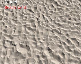 Beach sand Scan 3D texture