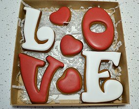 Lovely cookie cutters 3D print model