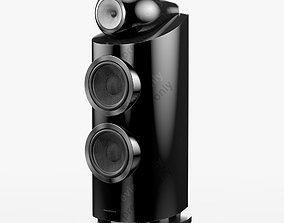 Bowers and Wilkins 800 D3 Gloss Black 3D model