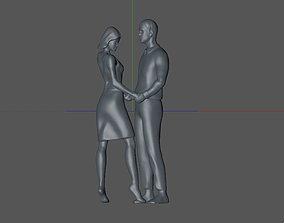 3D printable model a couple