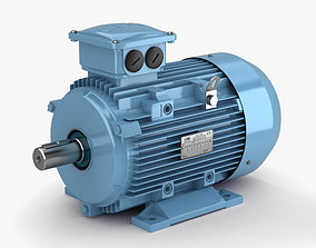 3D model Electric Motor industrial