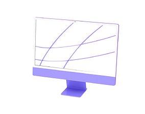 iMac 2021 M1 3D m1