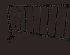 Metal Railing Game Ready 3D asset game-ready