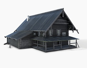 3D model RusHouse03