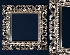 mirror frame 3D print model petergof