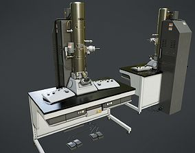3D asset Electron Microscope