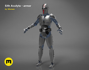 3D print model Sith Acolyte - armor