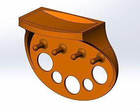 3D printable model Key shelf