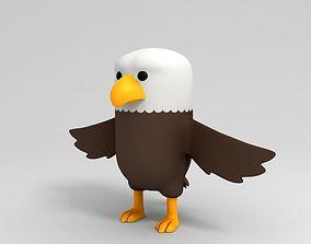 3D model Eagle Character