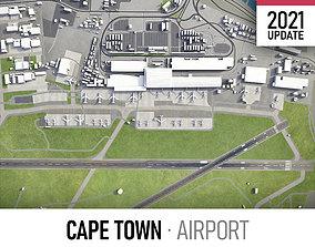3D asset Cape Town Airport