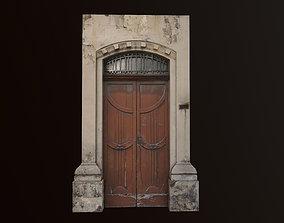 3D model Medieval Door 2 PBR