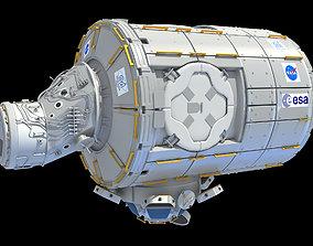 Harmony ISS Module 3D