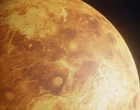 Photorealistic Venus 3D asset