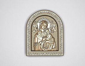 3D print model Icon Mother of God