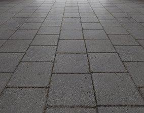3D model Paving slabs Floor 005