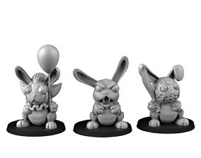 3D print model Rabbits