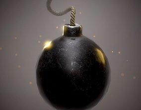 Bomb ball 3D model realtime