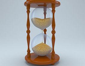 antique 3D Hourglass
