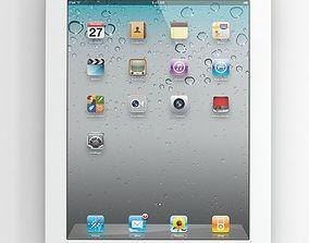 Apple iPad 2 3D model phone