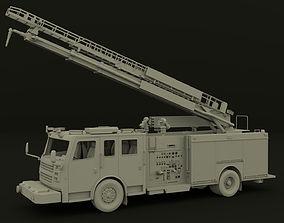 3D model Firetruck Roadrunner