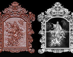 Mirror frame 3d - CNC machine - 3D CNC