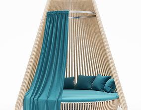 Louge Bed 3D