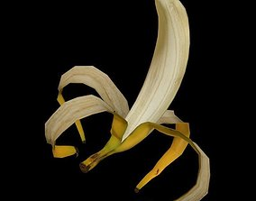 3D model Banana rig 2