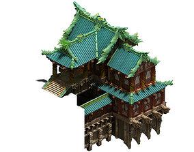 Jade Building - Alcohol Pavilion 3D model