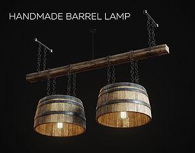 3D HandMade Barrel Lamp lighting