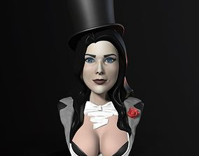 Bust - Zatanna Zatara 3D print model