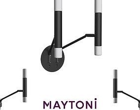 Sconce Vigo MOD620WL-04B Maytoni Modern 3D model